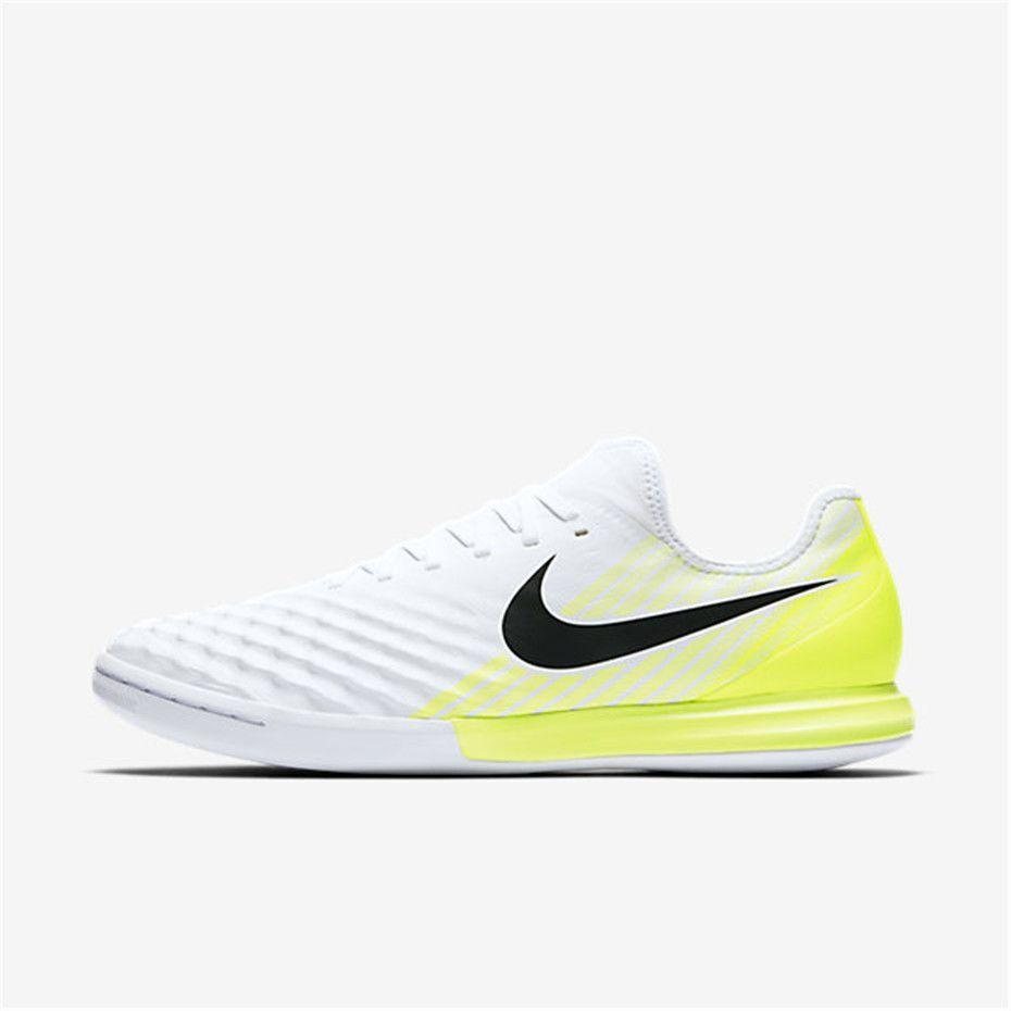 619362bc8 Nike MagistaX Finale II IC (White / Volt / Black) | Nike Soccer ...