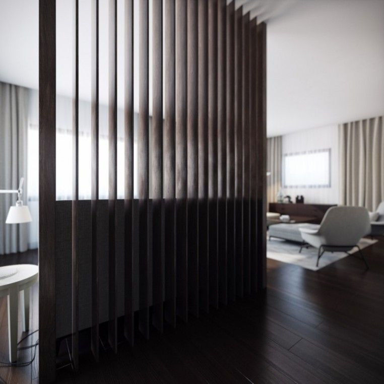 Decorating Home Option Using Room Divider Ideas. Wood Slat Accordion Room  Divider. Floor To Ceiling And Can Be Closed And Opened, Suitable For Work  Space Or ...
