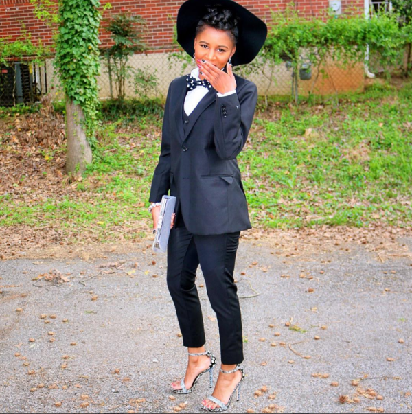 Image result for black girl in suit