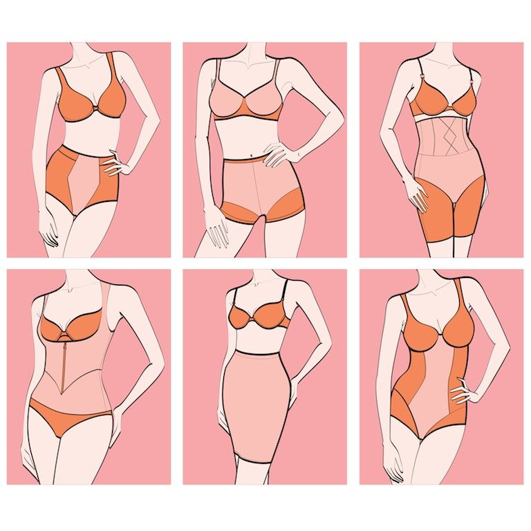 8b7604815b560 Shapewear 101  A Guide to Shapewear (and Other Lingerie Solutions.)