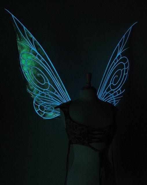 TinkGlowDark1 | Flügel, Kostüm und Elf kostüm
