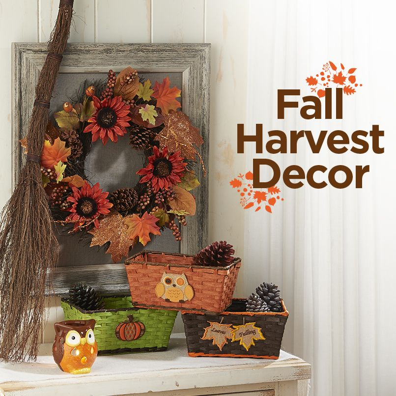 Fall Harvest Decor available at your local Dollar General! #fall - dollar general christmas decorations