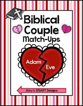 Biblical Couples Match Up Valentine S Day Party Games
