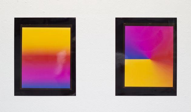 Colour study 1&2, Myne Søe-Pedersen, 2014