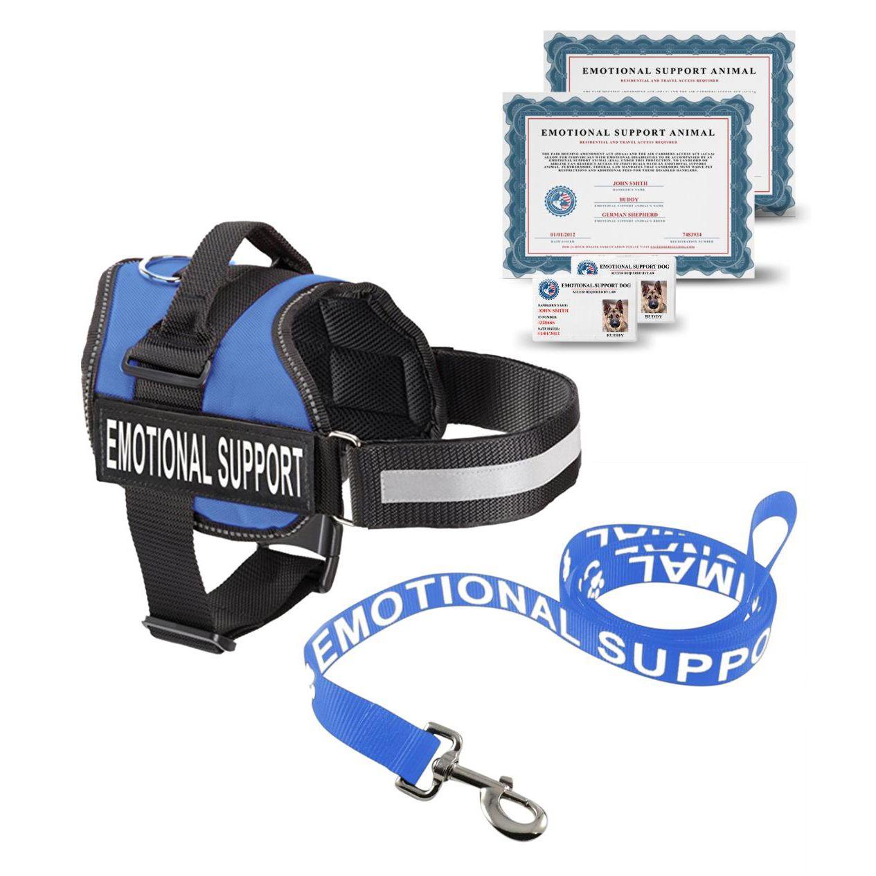 COMPLETE EMOTIONAL SUPPORT ANIMAL KIT Emotional support