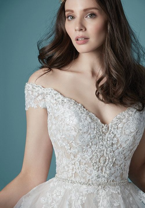 Wedding Dress Out Of Maggie Sottero Natalie In 2020 Ball Gowns Wedding Sottero Wedding Dress Maggie Sottero Wedding Dresses