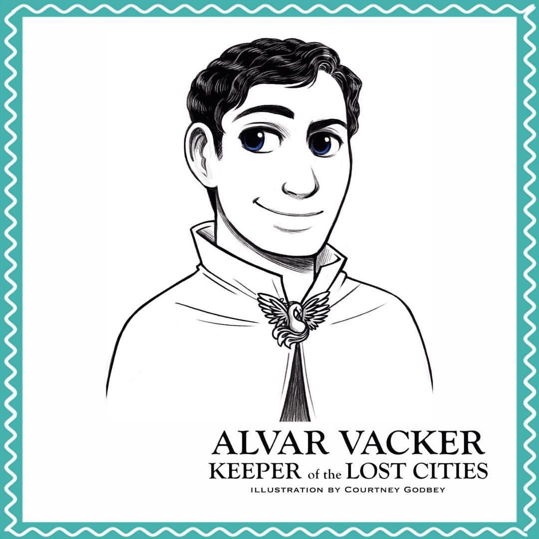 Alvar Vacker, From The Keeper Of The Lost Cities Series
