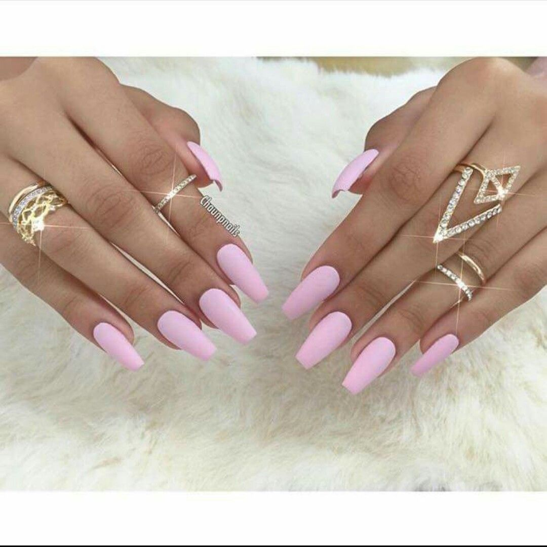 Pin By Karen Rebollo On Claws Baby Pink Nails Light Pink Acrylic Nails Baby Pink Nails Acrylic
