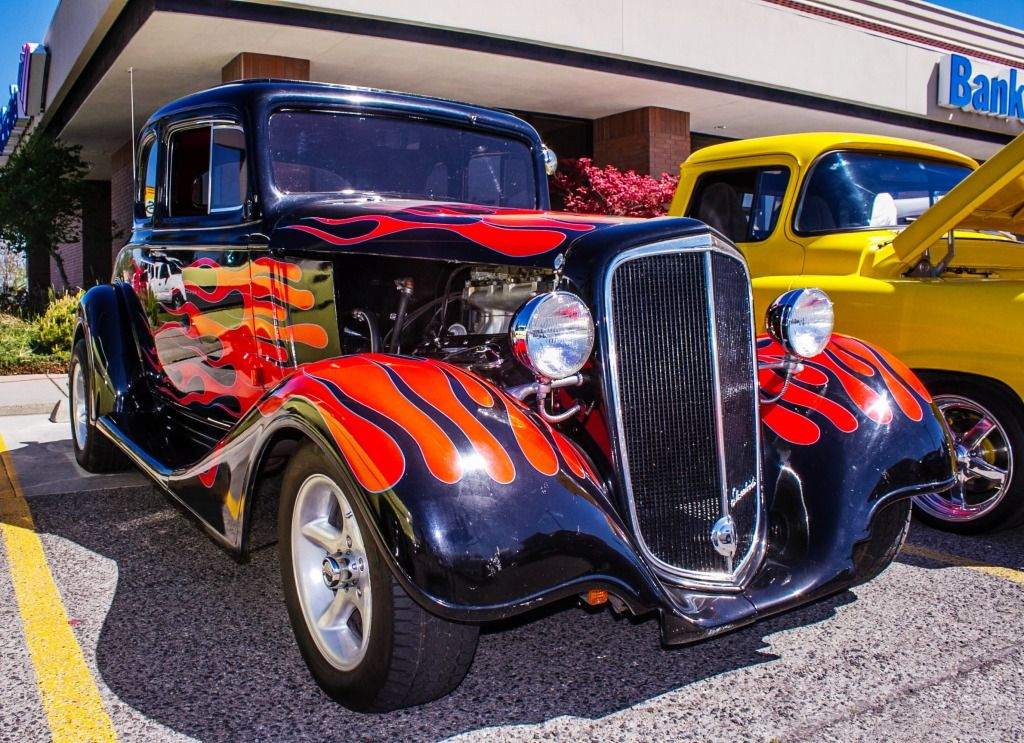 Hot Rod, Street Tin Car Show jigsaw puzzle | i\'m puzzled | Pinterest