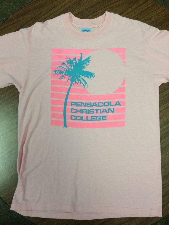 90s Vintage Pensacola Christian College T-Shirt