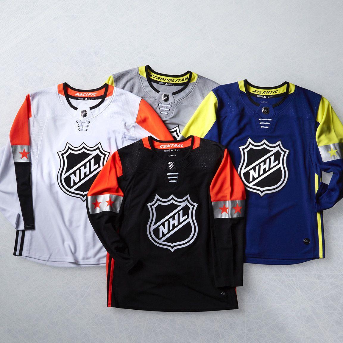 2018 NHL All-Star Game Uniforms Unveiled  b1c8816e376