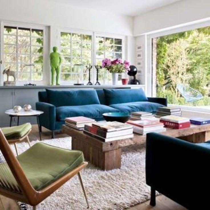 cool Déco Salon - Chez Sarah Lavoine : le tableau entre dans le ...