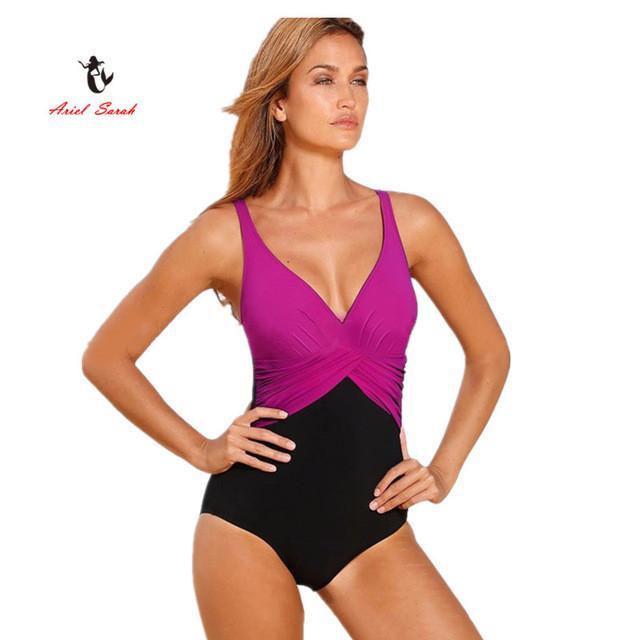 cbd1854bc8172 One Piece Swimsuit Brazilian Bikini Set Sexy Tankini Set Beachwear Plus  Size Swimwear Women Black Bathing