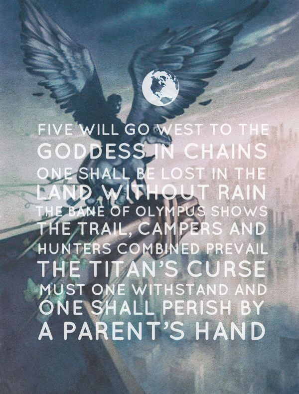The Titans Curse Prophecy Percy Jackson And The Olympians