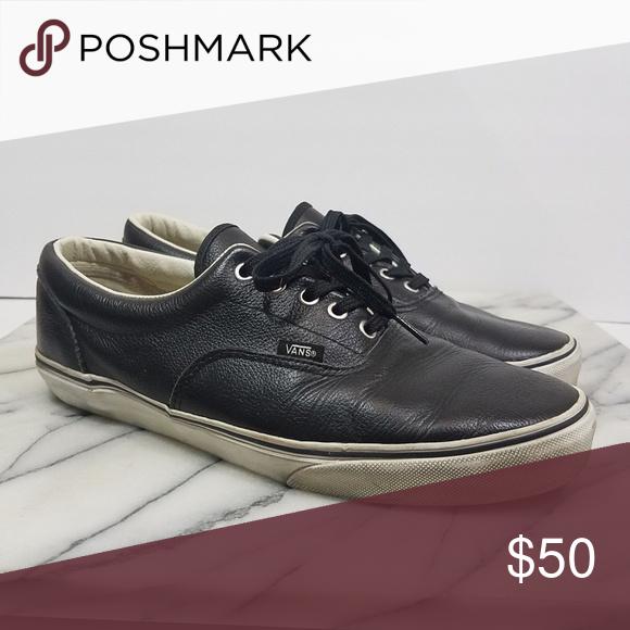 Sneakers Vans Era Cup Leather Black