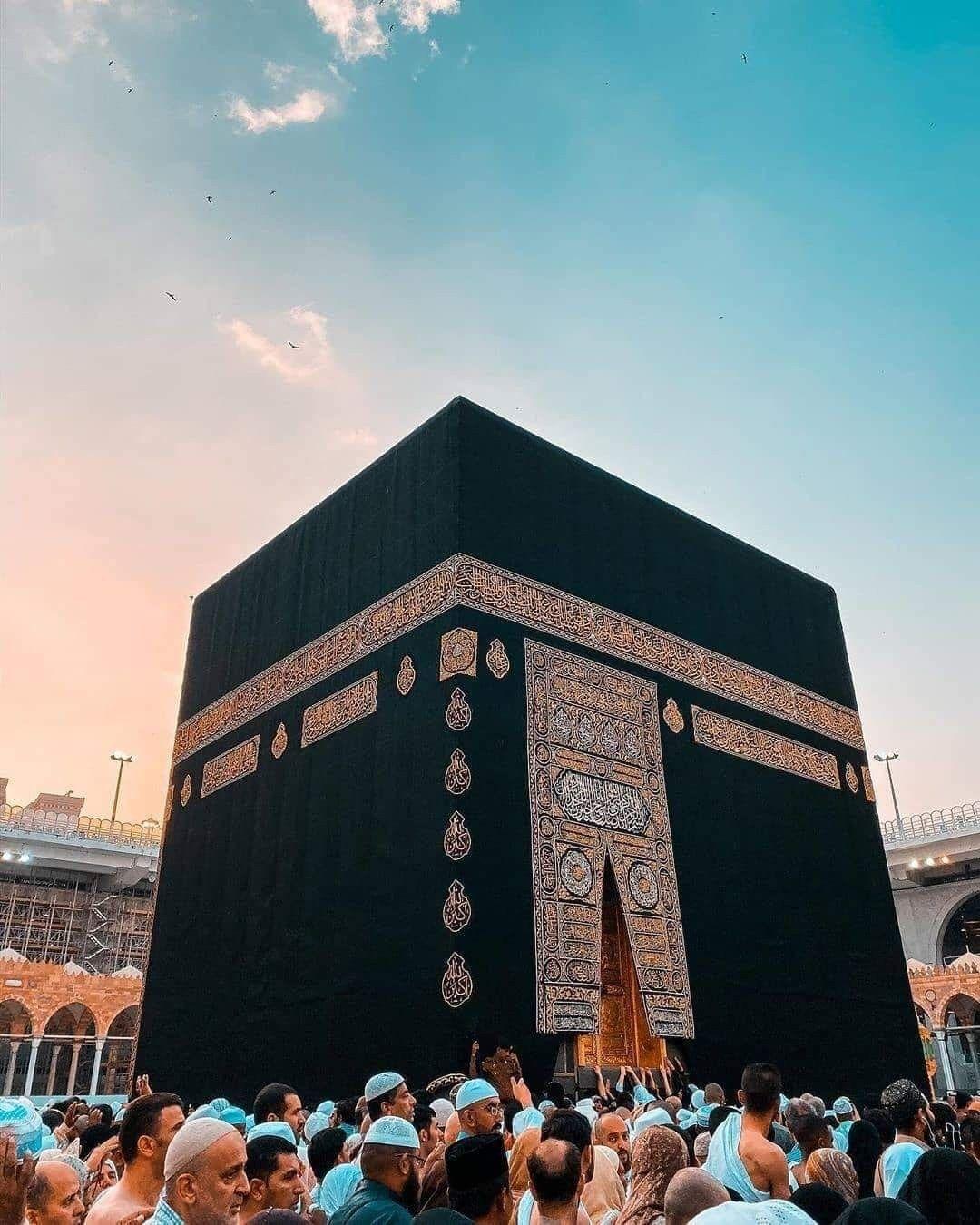 Kabah Mecca Saudi Allah Di 2020 Mekah Wallpaper Ponsel Desain