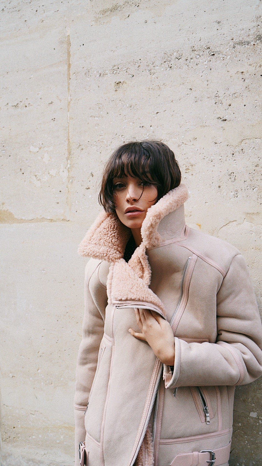 The Darnesha is our nod to the classic shearling coat 2d5c41f66