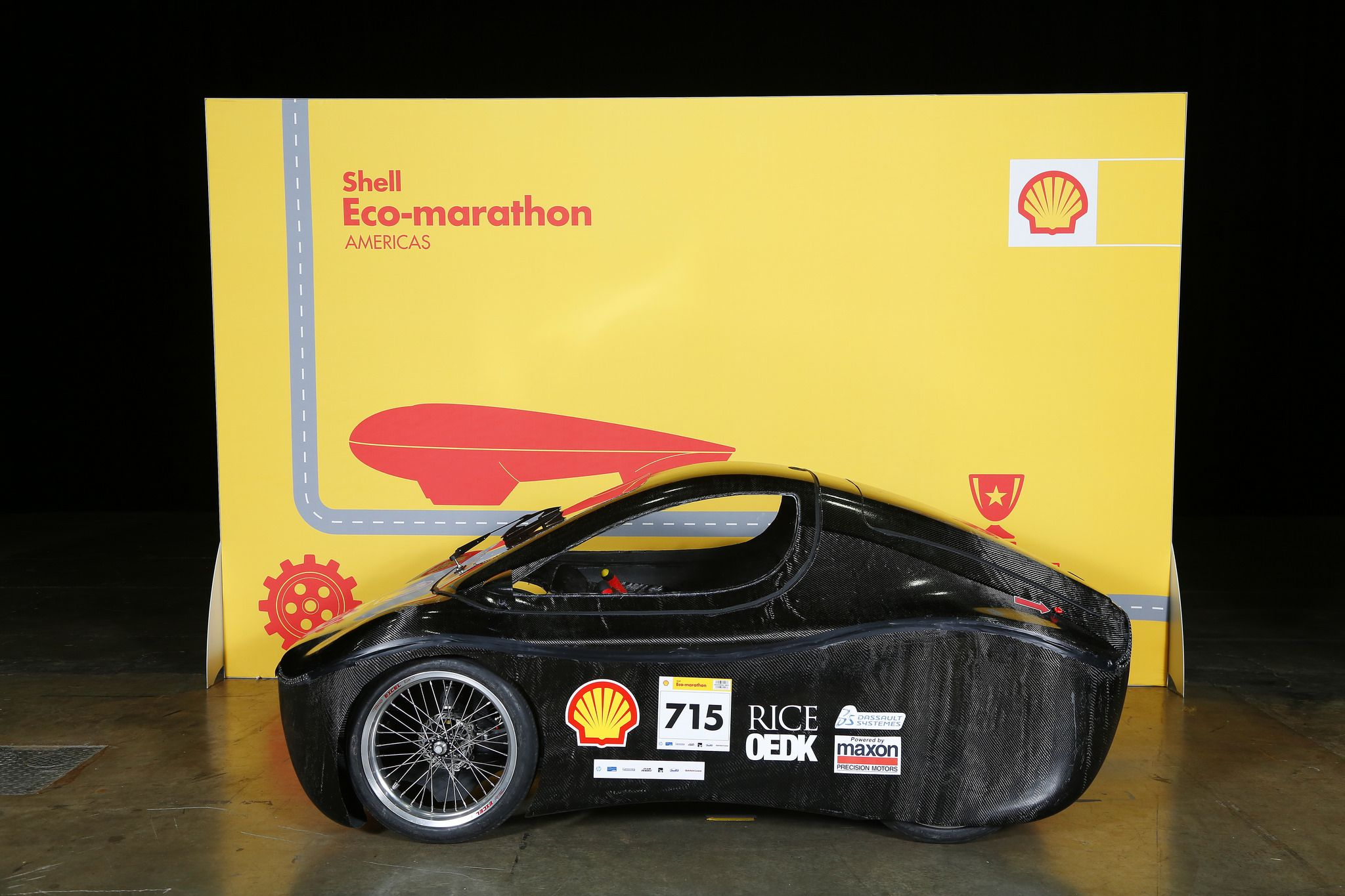 Https flic kr p s51gf9 shell eco marathon americas day two the gemini 715 battery electric urbanconcept competing for team rice solar car team 2