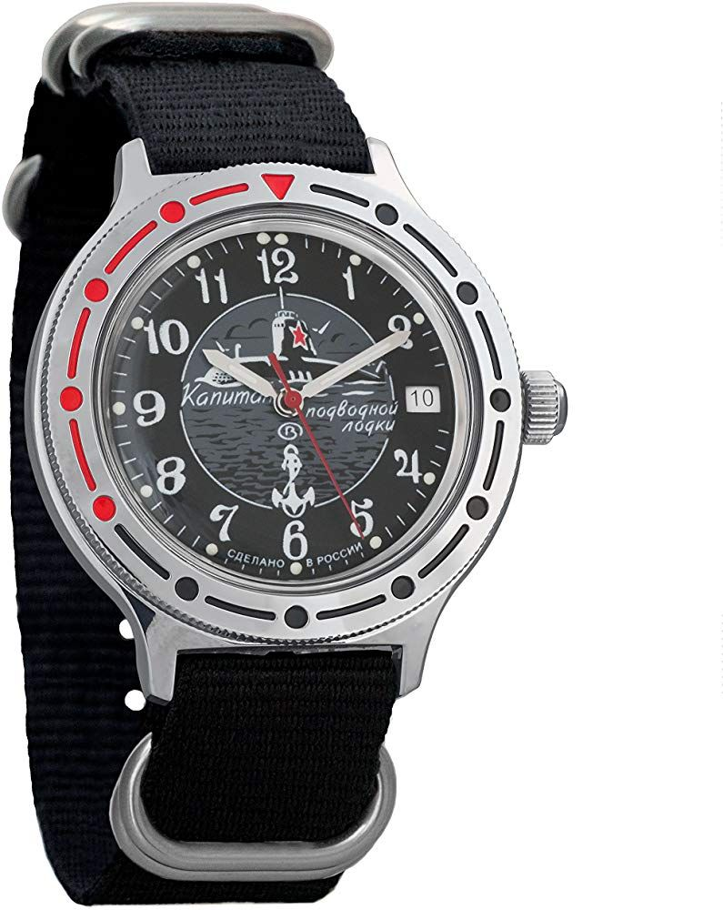 Vostok Komandirskie Reloj de pulsera para hombre (mecánico