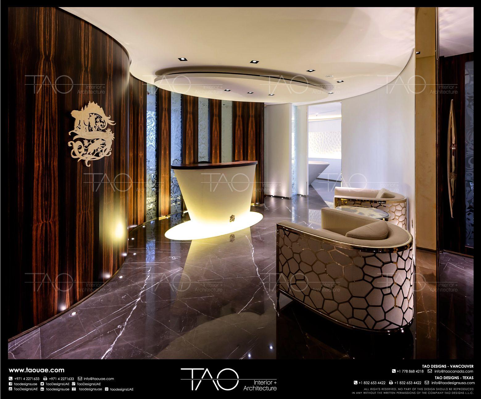 Jlt Office Reception Area Interior In Jlt Dubai By Tao Designs