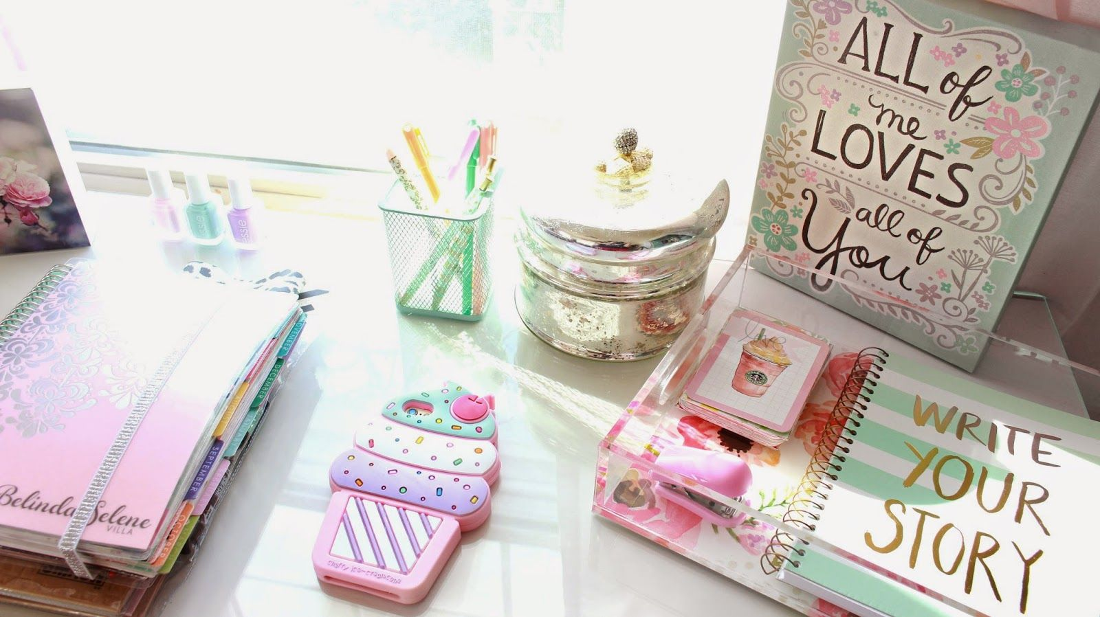 This IPhone Case Is Super Cute! DIY Tumblr Inspired Office