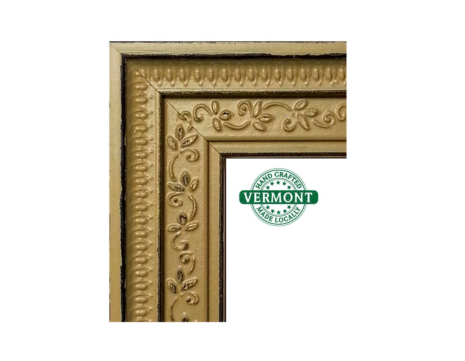 Ornate Gold Picture Frame Real Gold Leaf Photo Frame Gold Ornate Floral Wood 4x6 9x9 8x10 10x12 1 Gold Picture Frames Gold Ornate Picture Frames Frame
