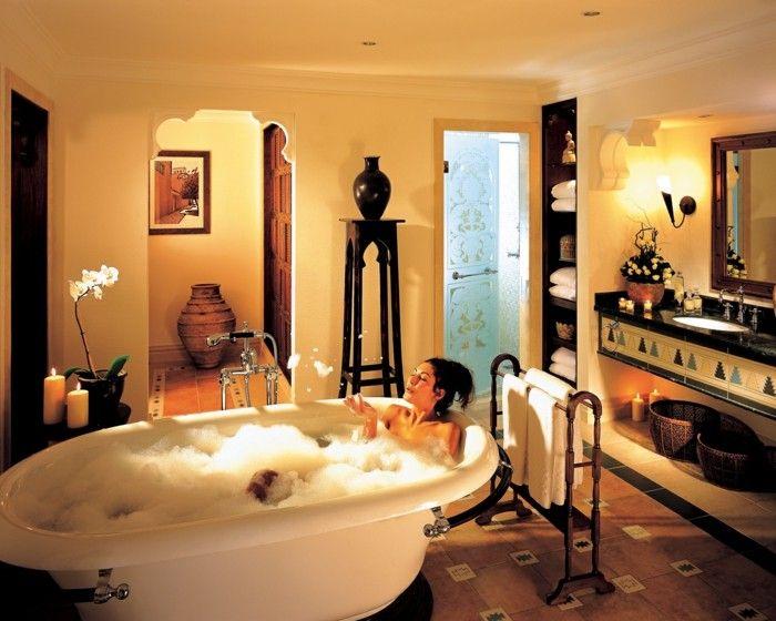 Badezimmer Spa ~ Orientalische gestaltung badezimmer einrichtungsideen