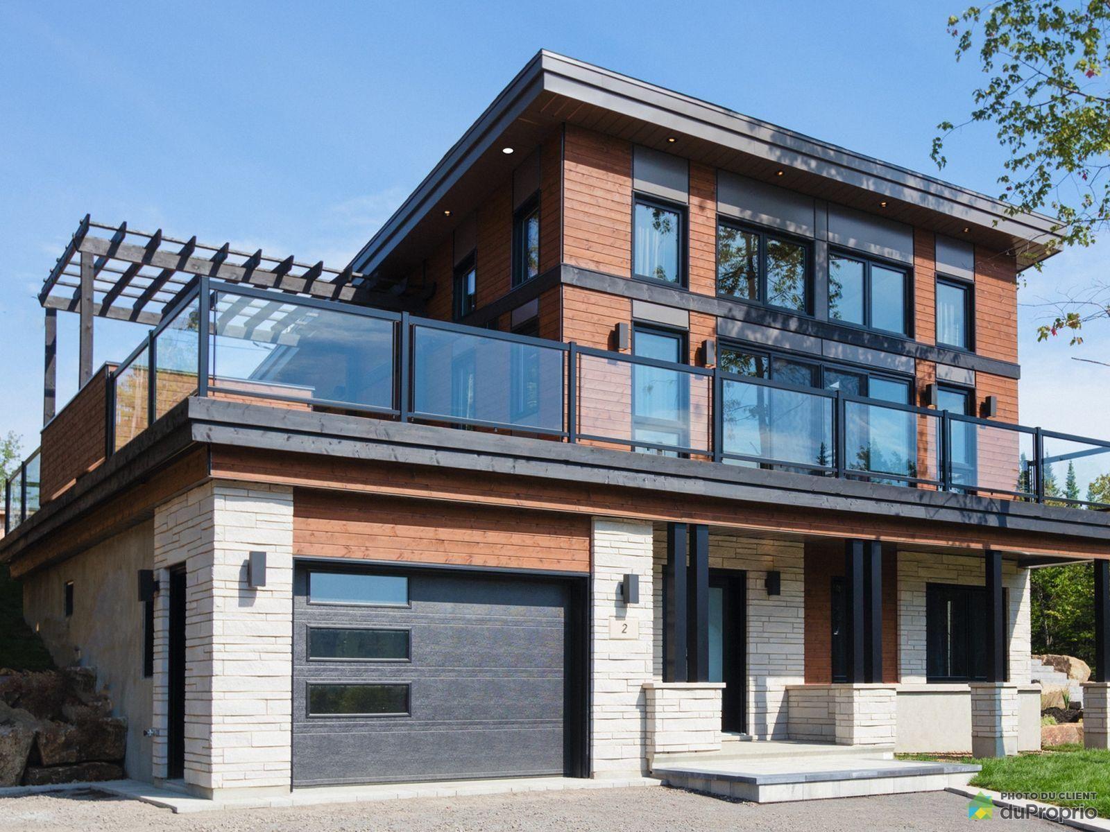 Lac Beauport Propriétés Neuves Maisons à Vendre Duproprio Prefabricated Houses House Designs Exterior House Exterior
