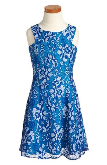 Sally Miller 'Barcelona' Lace Dress (Big Girls) available at #Nordstrom #sallymiller