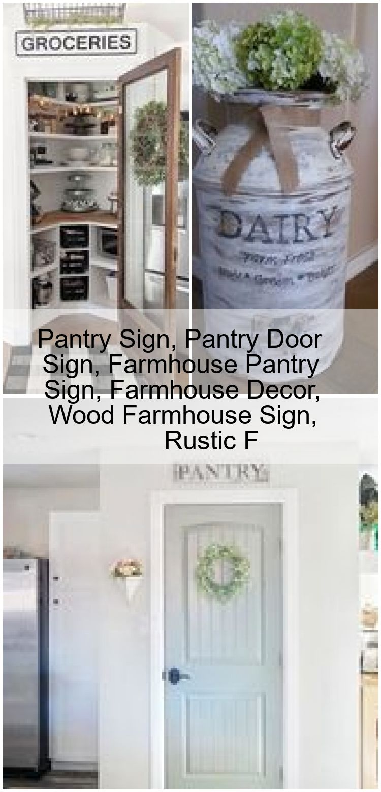Pantry Sign Pantry Door Sign Farmhouse Pantry Sign Farmhouse Decor Wood Farmhouse Sign R