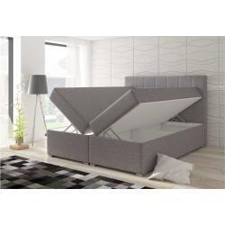 Photo of Stylefy Basilio Led box letto a molle 185x205x126 cm beige