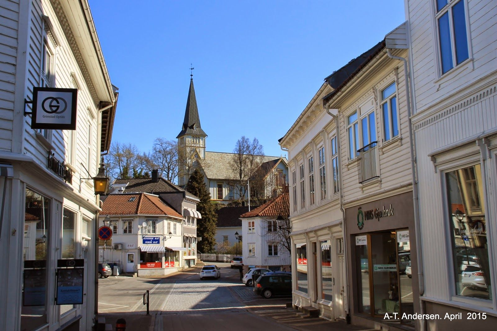 Captured  moments: A little stop in Grimstad city
