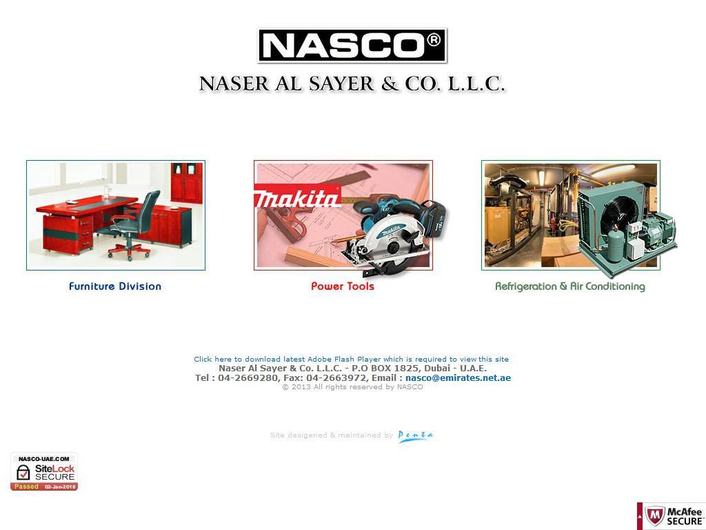 Naser Al Sayer Company, Llc Nasco Building, 128, Salah Al