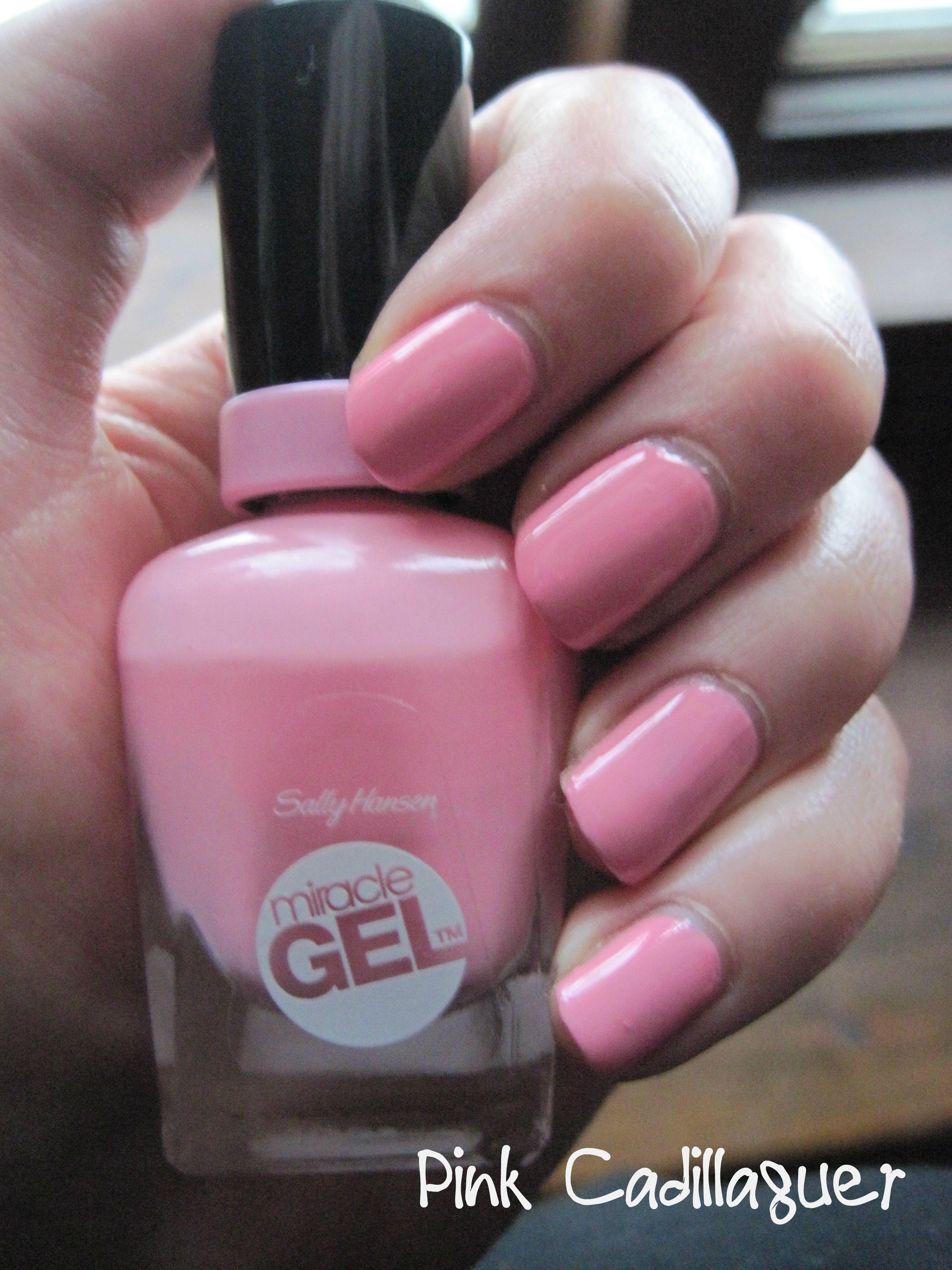 Sally Hansen Miracle Gel - 170 Pink Cadillaquer | My Dames Nails ...