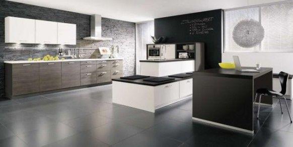 Types of Kitchens - Alno | Diseño de cocina, Diseño de cocina ...