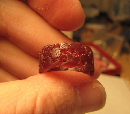 carving wax ring