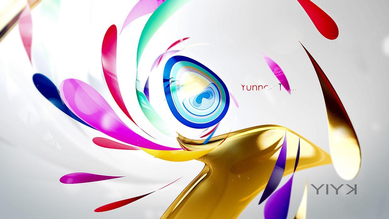 2014 YNTV brand design on Behance