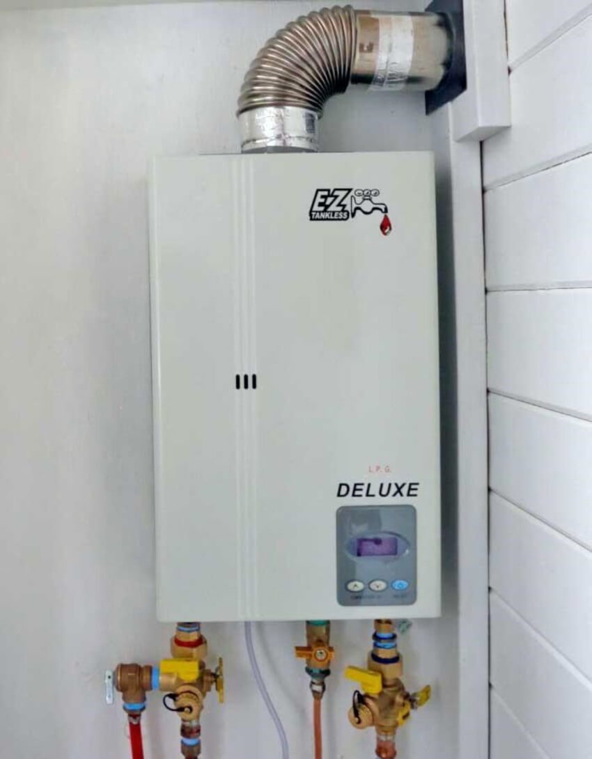 The Pros And Cons Of A Tankless Water Heater Tankless Water Heater On Demand Water Heater Tankless Hot Water Heater