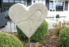 Ein Herz Für Mütter Gartenherz Aus Beton Selber Machen