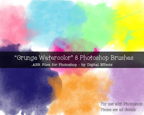 Free Photoshop Brushes Watercolor Free Photoshop Photoshop