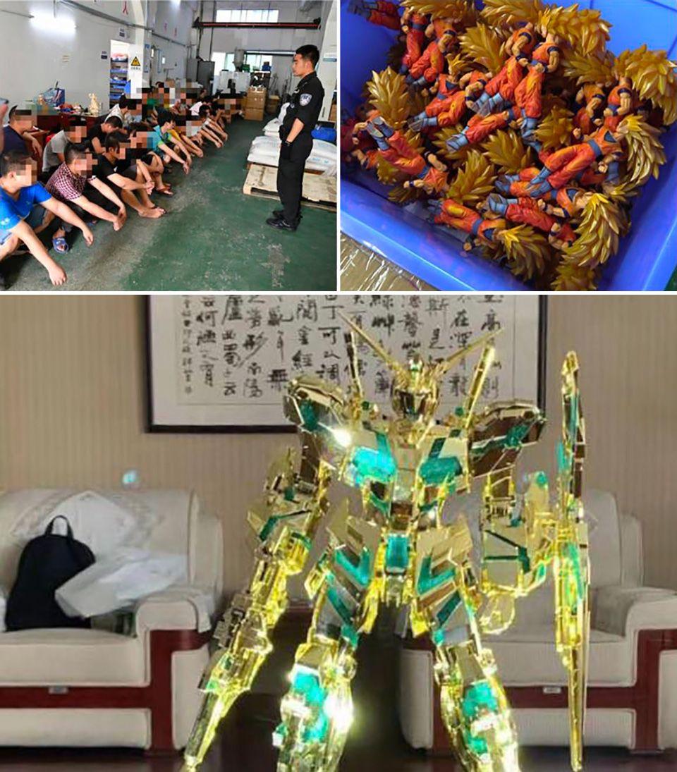 China police seize over 42million worth of fake toys