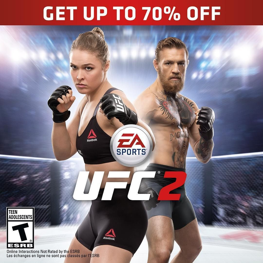 Before you watch UFC205, play it in EASPORTSUFC 2! Now