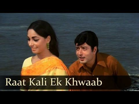 ▶ Raat Kali Ek Khwab Mein - Navin Nischol - Buddha Mil Gaya - Kishore Kumar - Hindi Songs - RD Burman - YouTube
