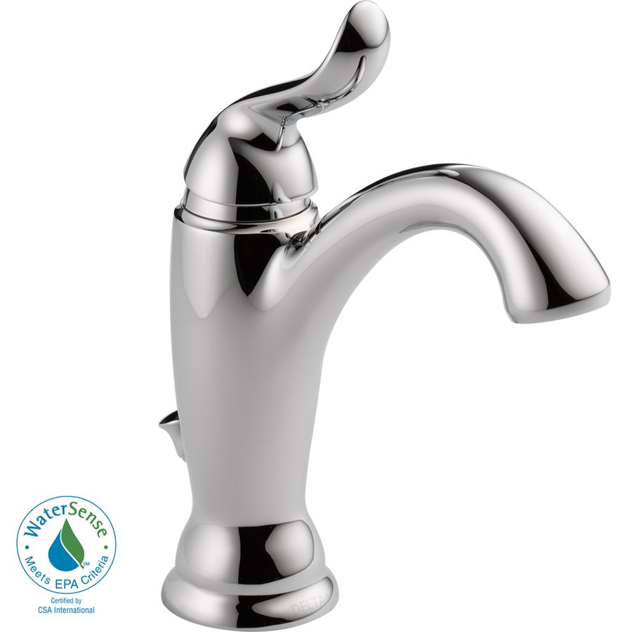 Delta linden single hole faucet
