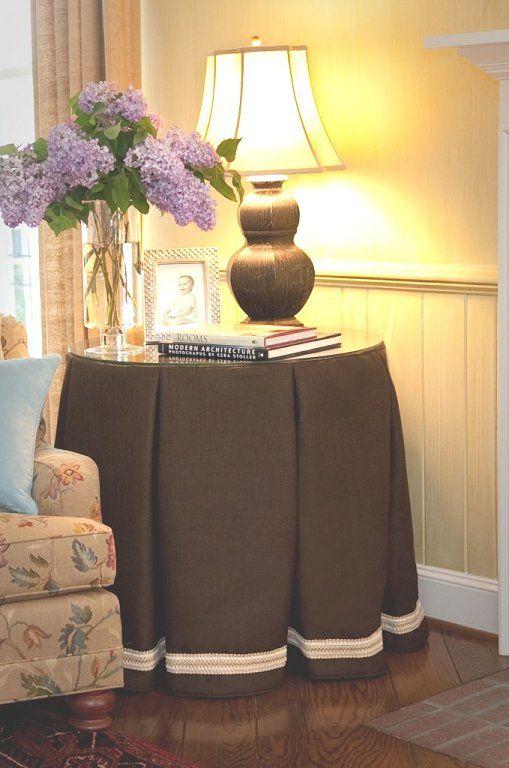 La mesa camilla ya no se estila  Faldas de mesa