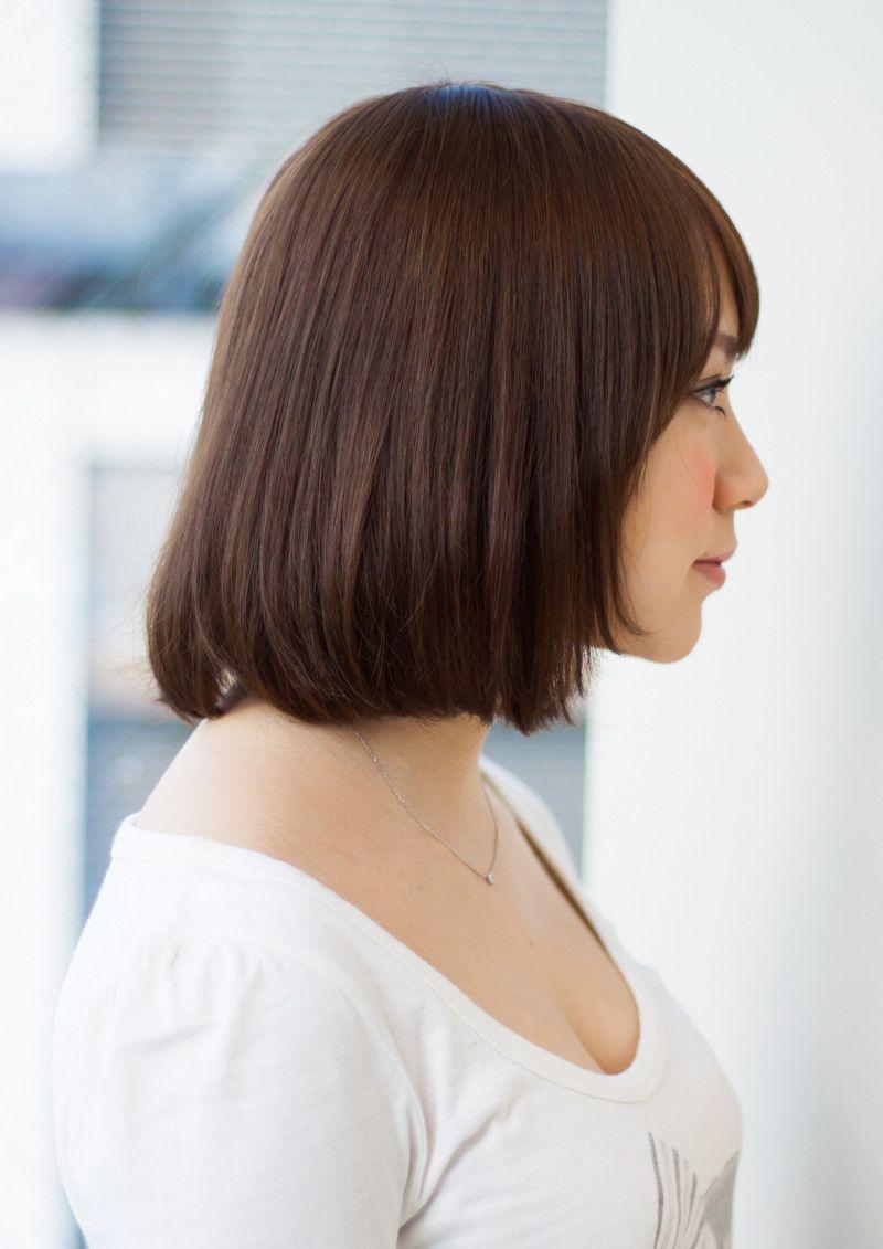 髪型 肩ギリギリくらいの長さがgood 美髪 ヘアカット ヘア
