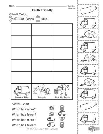 An earth-friendly graphing activity that is perfect for Earth Day or any day !