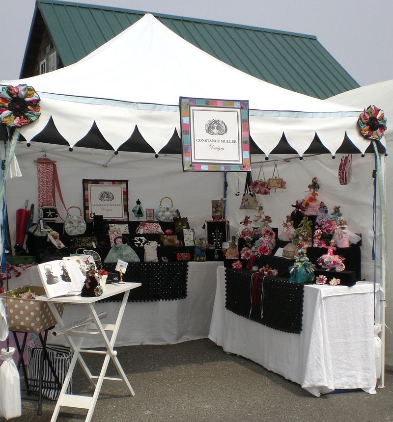 Scallops Nice Alterations To An Instant Canopy Shelter Canopy Shelter Instant Canopy Craft Booth
