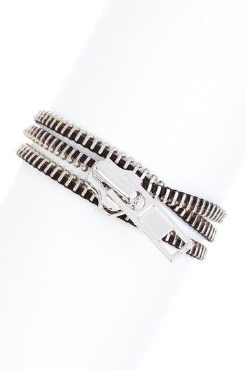 Zipper Wrap Bracelet by Chic For Summer on @HauteLook