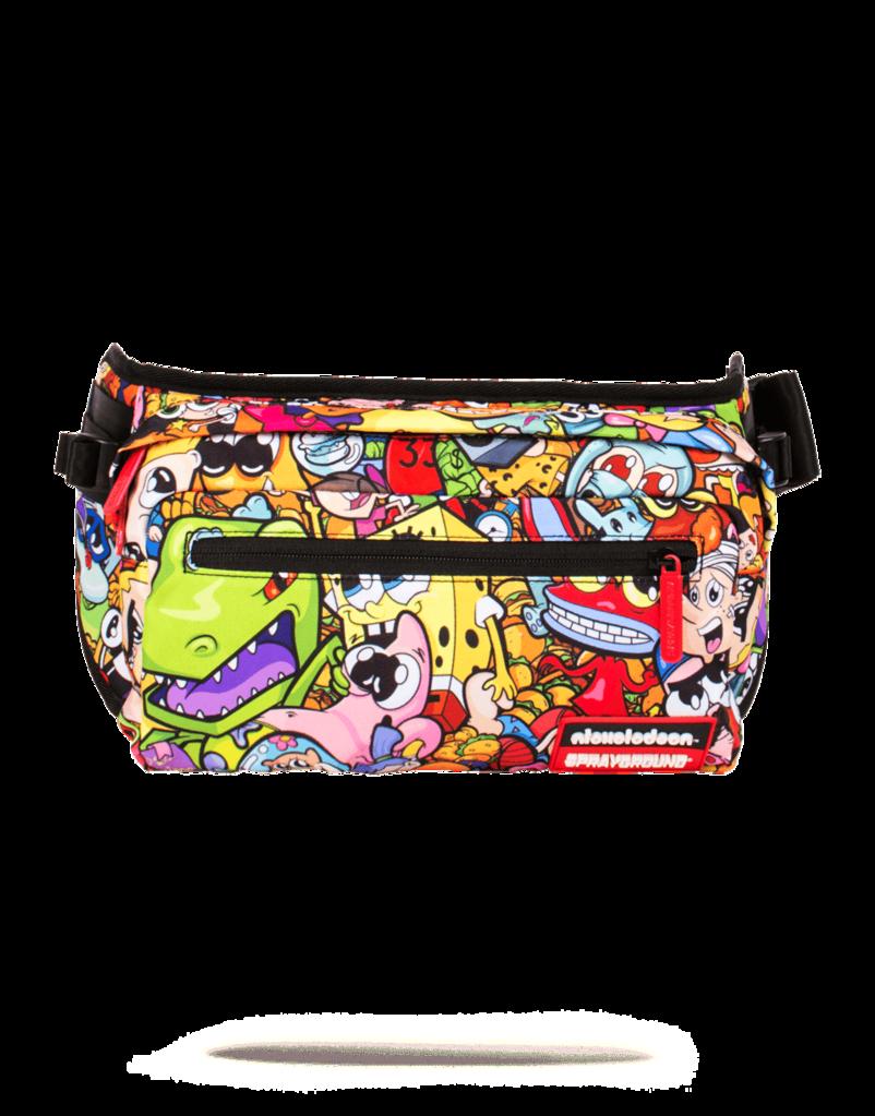 Nickelodeon 90s anime cross body sprayground cross body wallets backpacks backpack